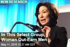 At the Very Top, Women Out-Earn Men