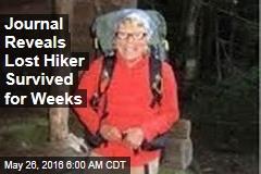 Journal Reveals Lost Hiker Survived for Weeks