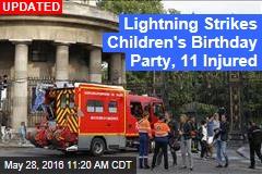 Lightning Strikes Children's Birthday Party, 11 Injured