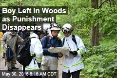 Japanese Boy Left in Woods as Punishment Disappears