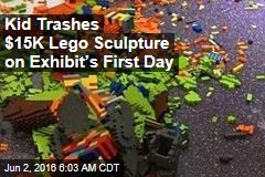Kid Trashes $15K Lego Sculpture on Exhibit's First Day