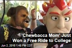 'Chewbacca Mom' Just Won a Free Ride to College