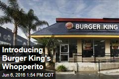 Introducing Burger King's Whopperito