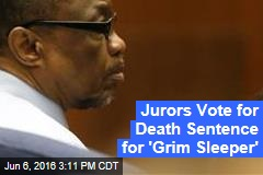 Jurors Vote for Death Sentence for 'Grim Sleeper'