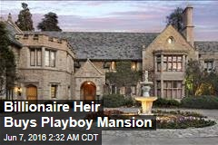 Billionaire Heir Buys Playboy Mansion