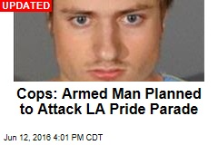 Police: Heavily Armed Man Was Headed to LA Pride