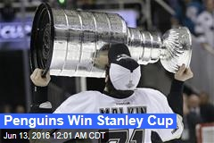 Penguins Win Stanley Cup