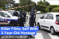 ISIS Attacker Stabs French Cop, Takes Son Hostage