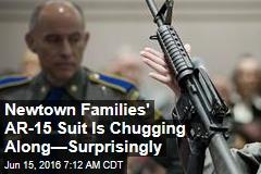 Newtown Families' AR-15 Suit Is Chugging Along—Surprisingly