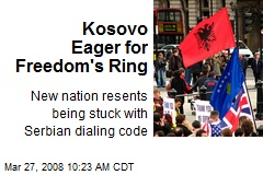 Kosovo Eager for Freedom's Ring