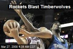 Rockets Blast Timberwolves