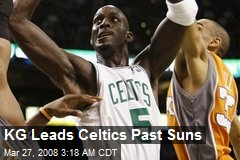 KG Leads Celtics Past Suns