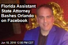 Florida Assistant State Attorney Bashes Orlando on Facebook