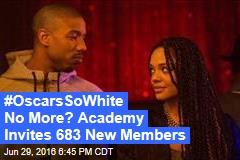 #OscarsSoWhite No More? Academy Invites 683 New Members