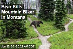 Bear Kills Mountain Biker in Montana