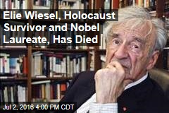 Elie Wiesel, Holocaust Survivor and Nobel Laureate, Has Died