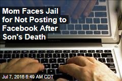 After Son's Death, Judge Orders Mom to Post on Facebook