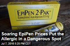 Soaring EpiPen Prices Put the Allergic in a Dangerous Spot