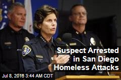 Suspect Arrested in San Diego Homeless Attacks