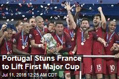 Portugal Stuns France to Lift 1st Major Cup