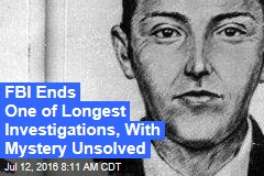 FBI Officially Gives Up on DB Cooper Hijacking