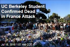 UC Berkeley Student Confirmed Dead in France Attack
