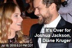 It's Over for Joshua Jackson, Diane Kruger