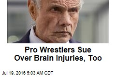Pro Wrestlers Sue Over Brain Injuries, Too