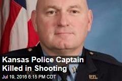 Kansas Police Captain Killed in Shooting