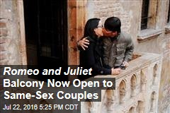 Romeo and Juliet Balcony Now Open to Same-Sex Couples