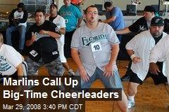 Marlins Call Up Big-Time Cheerleaders
