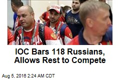IOC Approves Hundreds of Russian Athletes