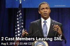 2 Cast Members Leaving SNL