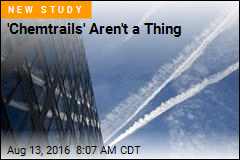'Chemtrails' Aren't a Thing
