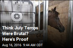 Think July Temps Were Brutal? Here's Proof