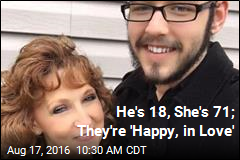 He's 18, She's 71; They're 'Happy, in Love'