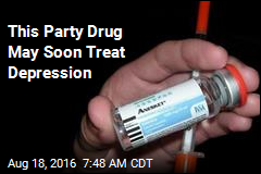 This Party Drug May Soon Treat Depression