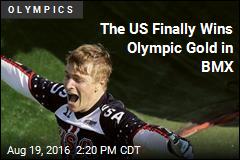 US Ends Gold Medal BMX Drought
