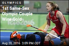 1st Same-Sex Olympic Couple Wins Gold