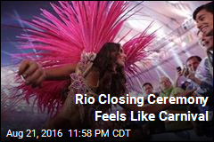 Rio Closing Ceremony Feels Like Carnival