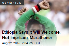 Ethiopia Says It Will Welcome, Not Imprison, Marathoner