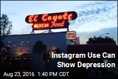 Instagram Use Can Show Depression