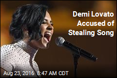 Demi Lovato Accused of Stealing Song