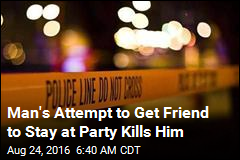 Man Run Over by Friend at His Own Birthday Party