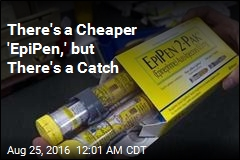 There's a Cheaper 'EpiPen,' but There's a Catch
