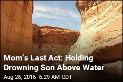 Mom's Last Act: Holding Drowning Son Above Water