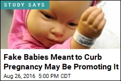 Teens Caring for Fake Babies End Up Wanting Real Ones