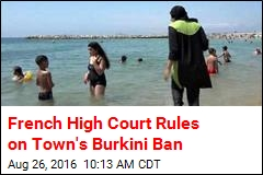 Burkinis Back in French Town, Thanks to High Court