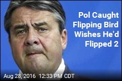 Pol Caught Flipping Bird Wishes He'd Flipped 2