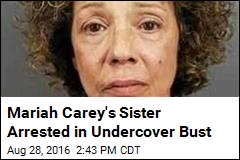 Mariah Carey's Sister Arrested in Undercover Bust